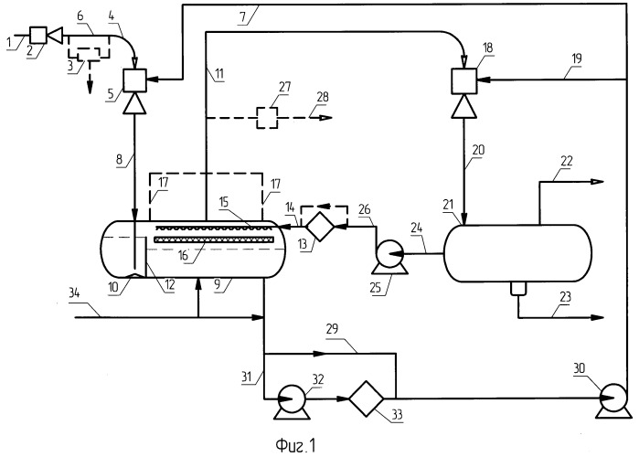 Способ создания вакуума для аппаратов перегонки нефтепродуктов и система создания вакуума