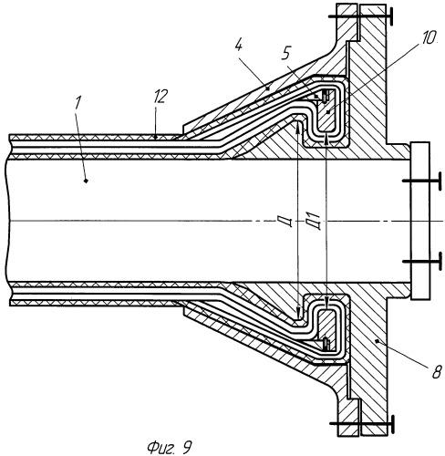 Способ сборки резинокордного патрубка