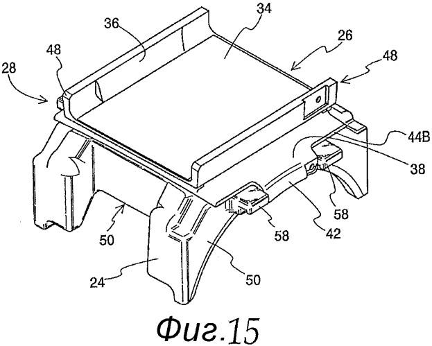 Низкопрофильные подушка, работающая на сдвиг, и адаптер