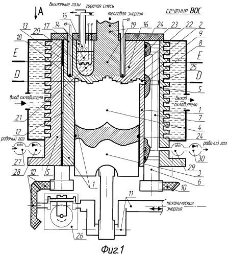 Двигатель с подводом теплоты