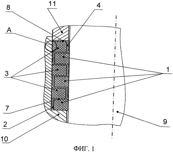 Уплотнительный узел штока силового цилиндра