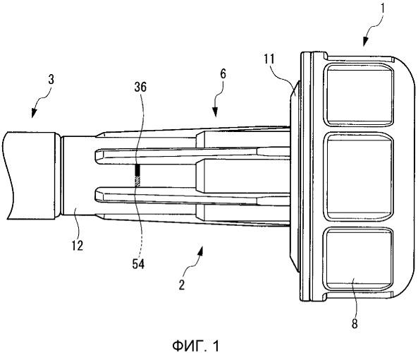 Блок инъекционной иглы и устройство для инъекции лекарственного препарата