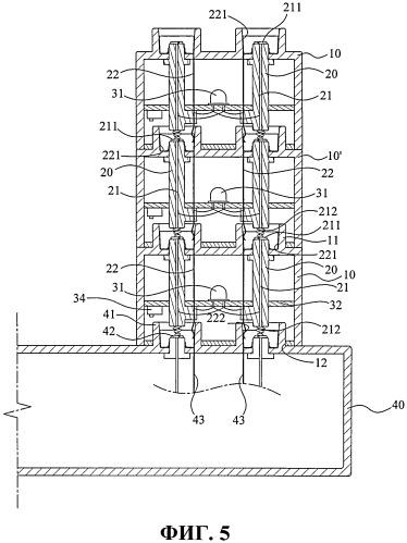 Светоизлучающий строительный блок с электрическим соединительным узлом и корпусом источника питания для него