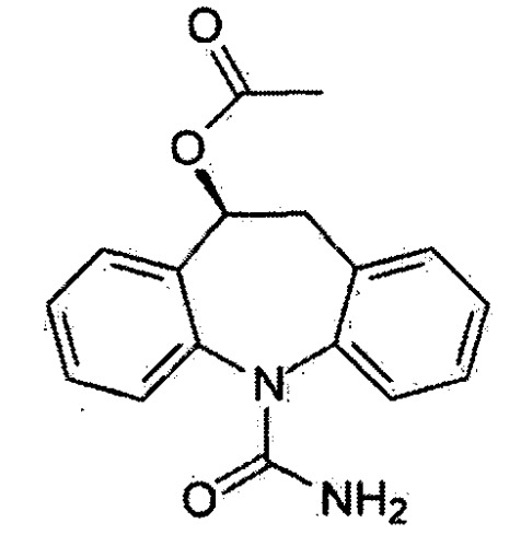 Лекарственные формы для перорального применения, содержащие ацетат ликарбазепина