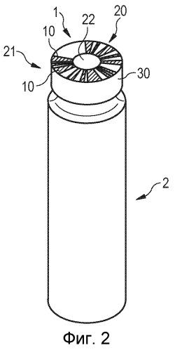 Круговой штрихкод для контейнера для лекарств