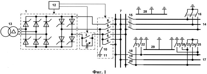 Установка для плавки гололеда на воздушных линиях электропередачи