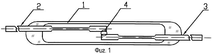 Магнитоуправляемый герметизированный контакт