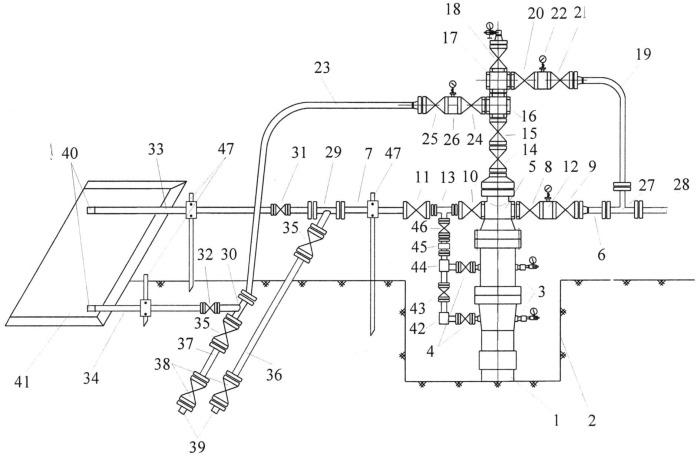 Устьевая обвязка малодебитной нефтяной скважины с межколонными газопроявлениями