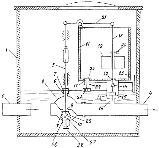 Устройство для регулирования уровня воды в закрытой дренажной сети
