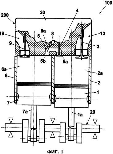 Двигатель с разделённым циклом