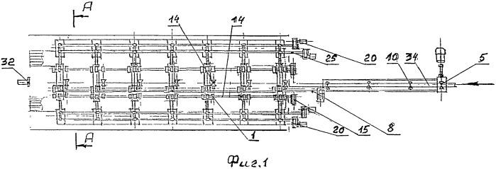 Линия пакетирования труб