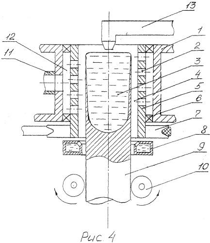Способ непрерывного литья круглых слитков и устройство для его осуществления