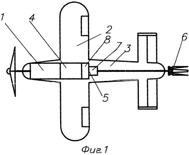 Устройство аварийного спасения дистанционно пилотируемого летательного аппарата