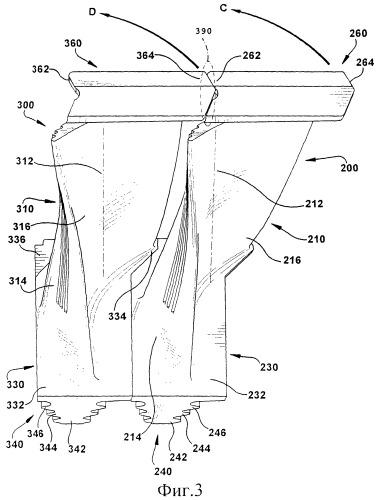 Турбинная лопатка (варианты) и ротор