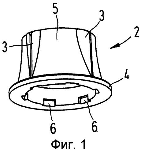 Устройство для фиксации кабеля на патрубке для ответвления кабеля