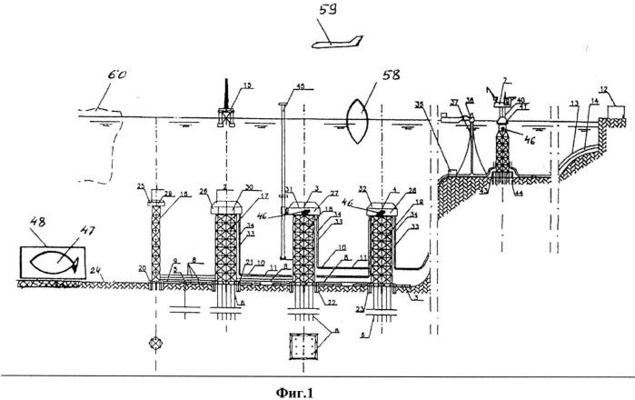 Способ обустройства морских глубоководных нефтегазовых месторождений