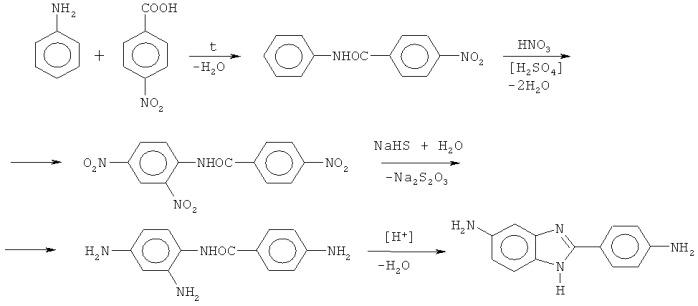 Способ получения 5(6)-амино-2-(4-аминофенил)бензимидазола