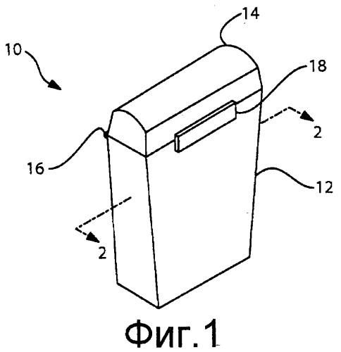 Устройство для обеспечения улучшенных преимуществ очистки межзубных промежутков нитью