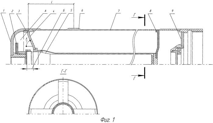 Контейнер бакового типа боевой части для размещения жидкого наполнителя