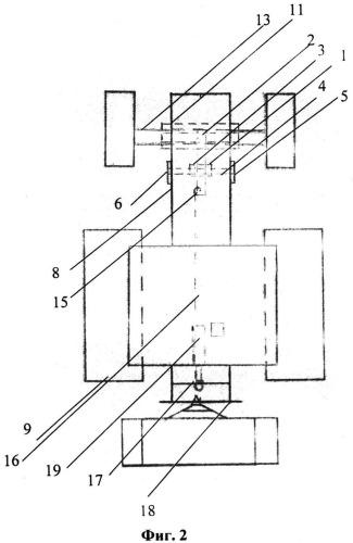 Догружатель управляемого моста колесного трактора типа мтз