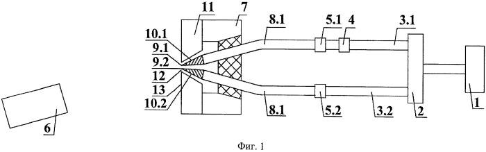 Низкокогерентный интерферометр с дифракционной волной сравнения и источник двух сферических эталонных волн для него