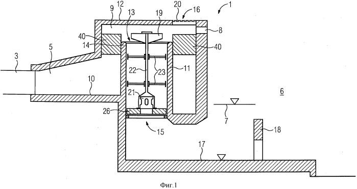 Резервуар с силовым замыканием