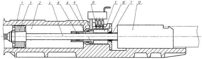 Подающий механизм пилигримового стана