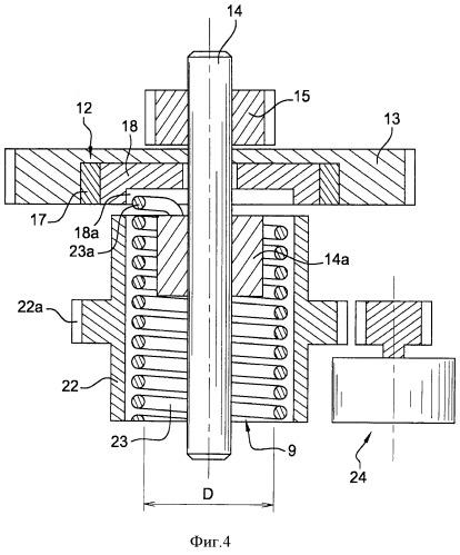 Привод для обеспечения закрывания замка открывающейся части автотранспортного средства и соответствующее устройство
