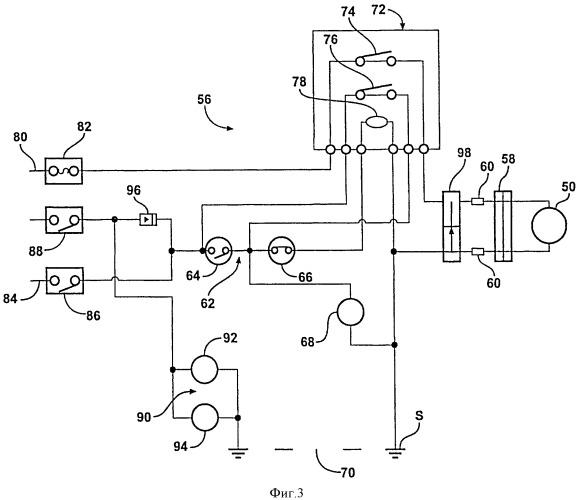 Электронно-управляемый блокируемый дифференциал с системой управления