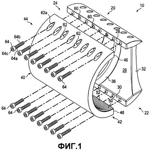 Механизм, выполненный с возможностью увеличения усталостной долговечности круглых сварных швов цилиндрической емкости под давлением, которая впоследствии загибается