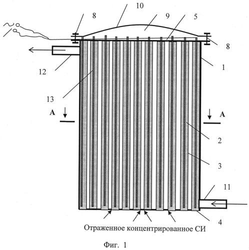 Аккумулятор теплоты с фазопереходным материалом