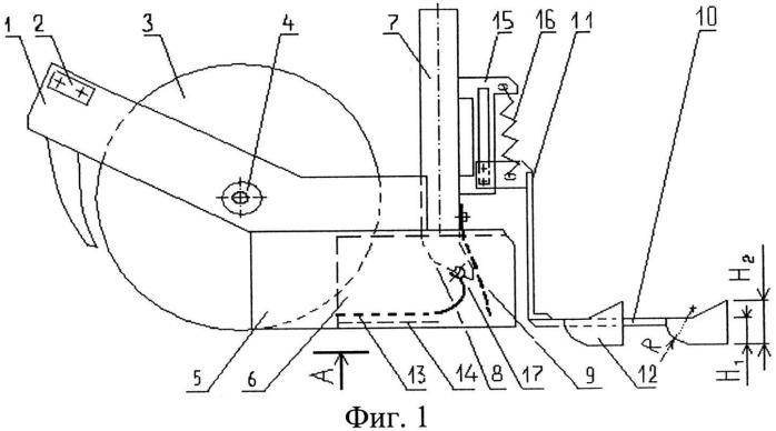 Дисково-анкерный сошник