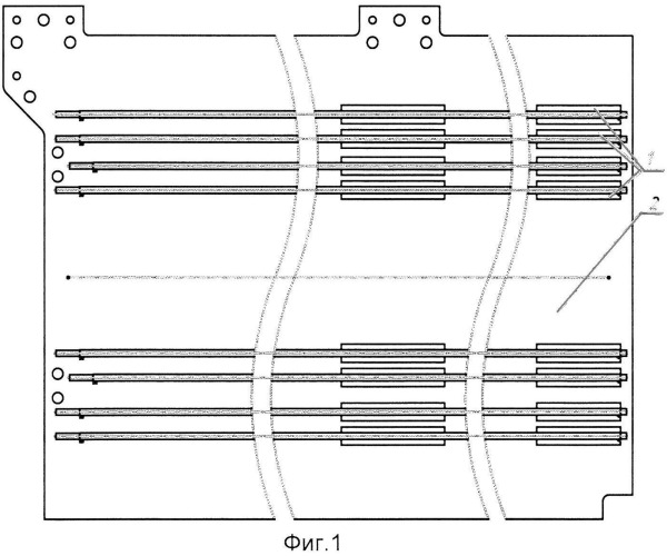 Способ установки тепловых труб в трехслойных панелях