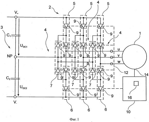 Способ управления вращающейся электрической машиной