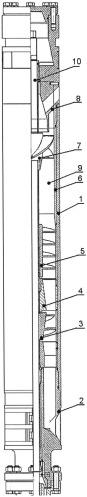 Скважинный вихревой газосепаратор (варианты)