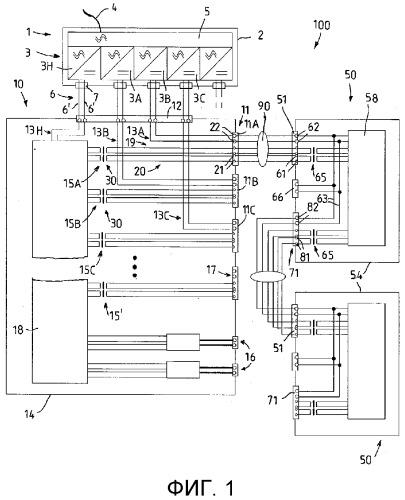 Искробезопасный соединительный блок с сетевым интерфейсом, искробезопасный прибор и сетевой интерфейс для него