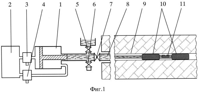 Способ воздействия на угольный пласт через скважины, пробуренные из горных выработок