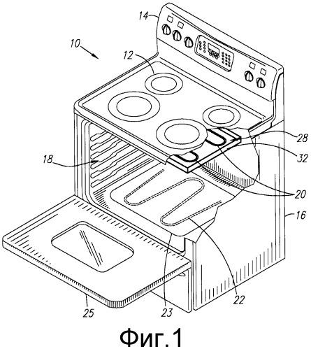 Гибридная система для жарки - электрический элемент для жарки