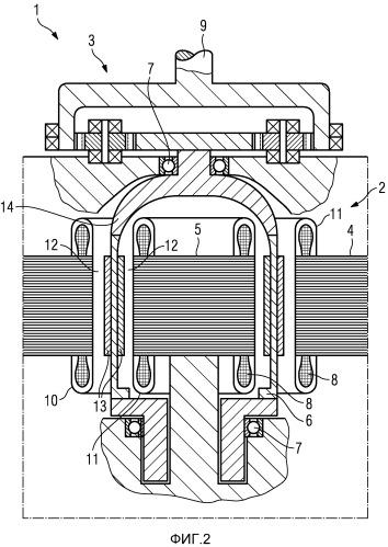 Электроприводное устройство летательного аппарата (варианты)