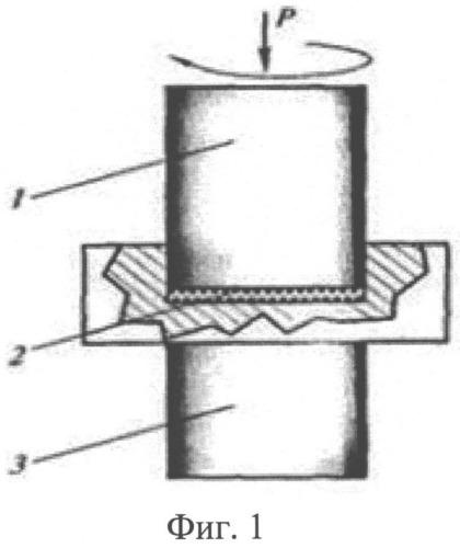 Способ интенсивной пластической деформации кручением под высоким циклическим давлением