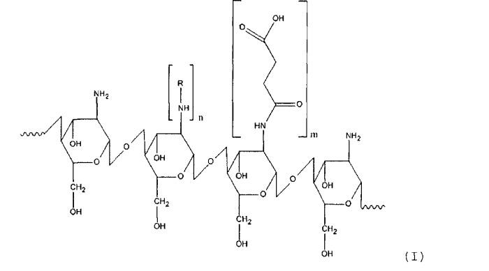 Способ получения производного хитозана, обладающего амфифильными свойствами