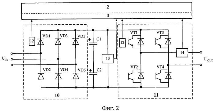 Способ самодиагностики высоковольтного преобразователя частоты