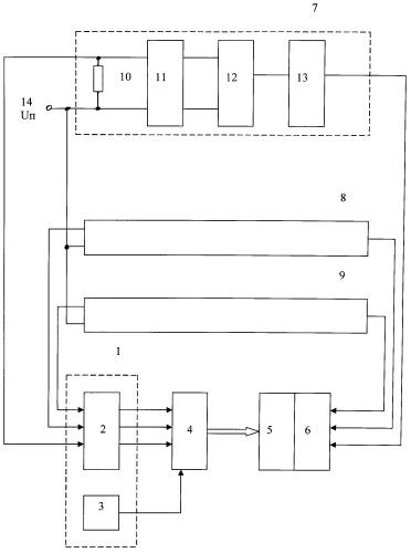 Устройство для контроля блока ориентации интегрированной системы резервных приборов