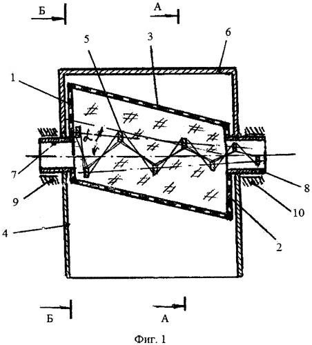 Установка для выделения жидкой фракции из материалов