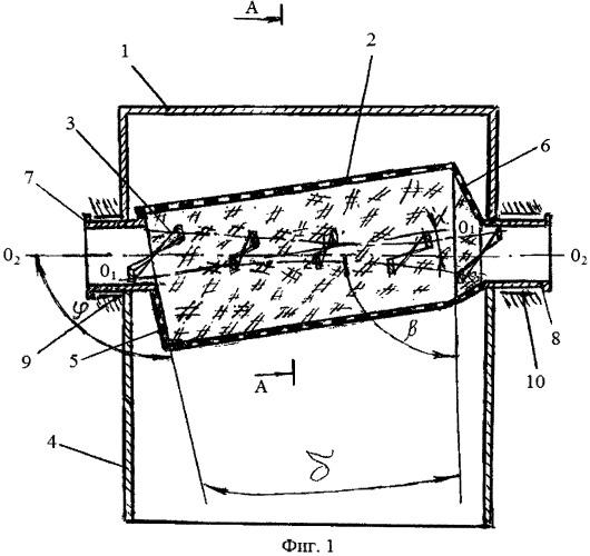 Устройство для выделения жидкой фракции из материалов