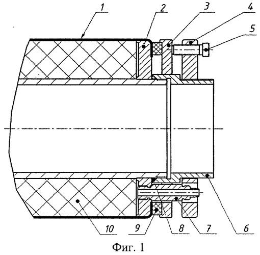 Способ изготовления остова высоковольтного ввода