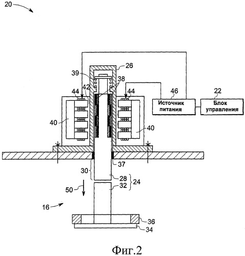 Электромагнитный исполнительный механизм