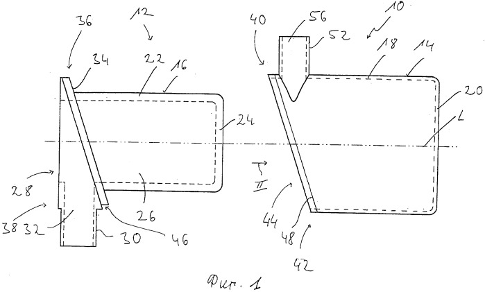 Устройство теплообменника, в частности, для системы отопления транспортного средства