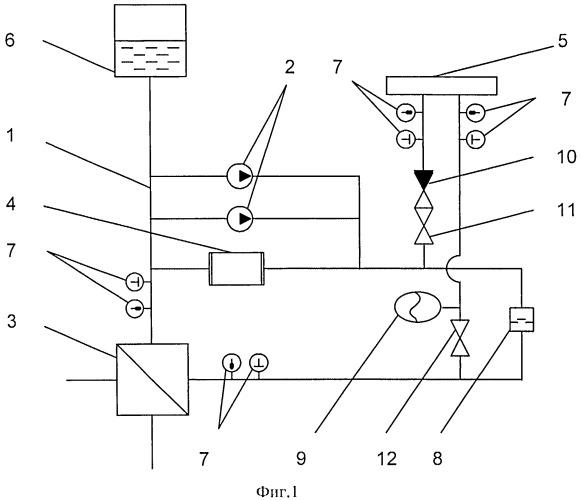 Система жидкостного охлаждения полупроводниковых приборов