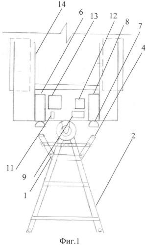 Автоматический корректор позиционирования колёсных транспортных средств при их агрегатировании с прицепами